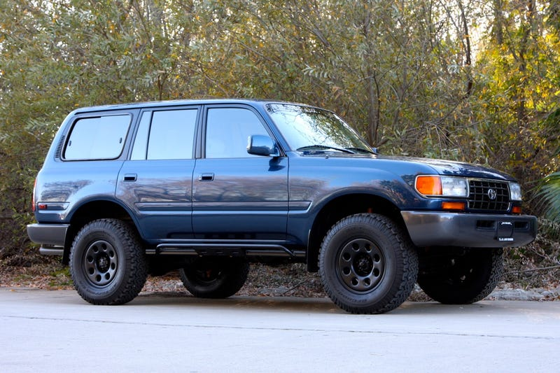 Opposite Lock Review - 1997 land cruiser 40th anniversary edition