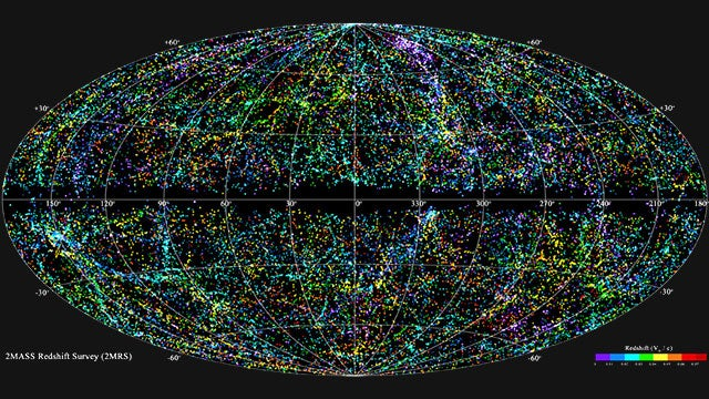 This is What 43,000 Galaxies Look Like On a Map