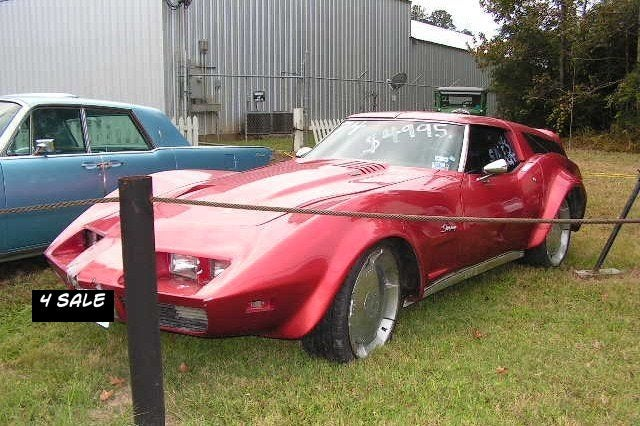 For $4,995, This Texas Custom Corvette Classes Up the Joint