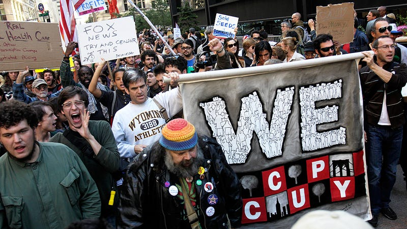 Scenes From the Occupy Wall Street March