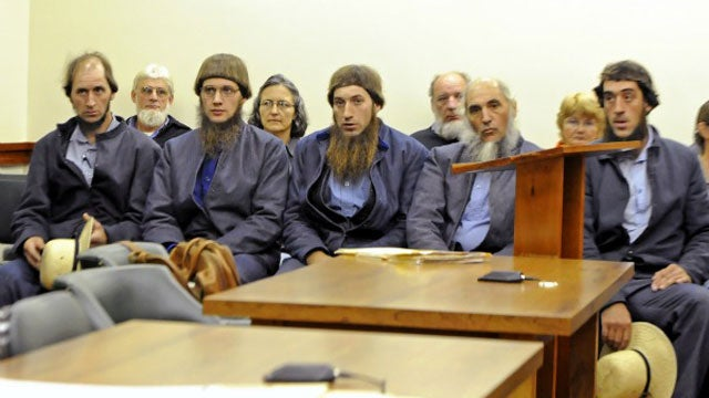 FBI Arrests 7 For Amish-Shearing Hate Crimes