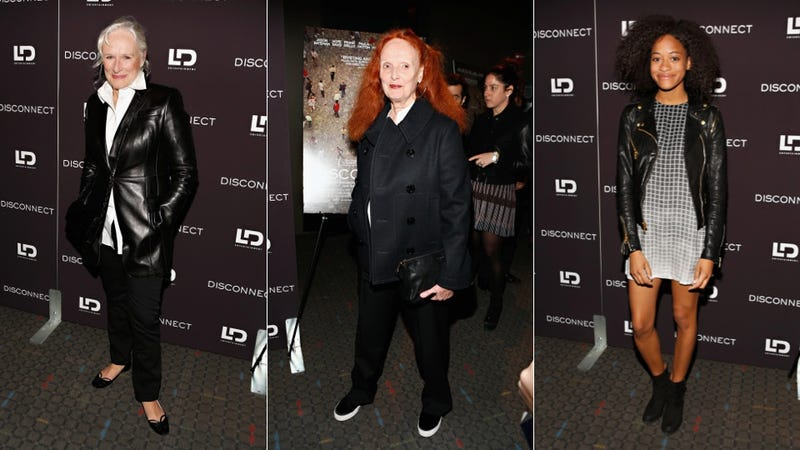 See-Through Shoes and a Seahorse Brooch at the Disconnect Screening