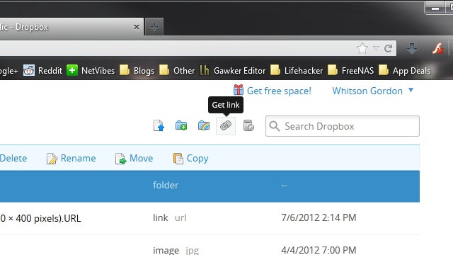 Share Multiple Files from Your Dropbox Folder Without Zipping Them