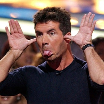 Simon Cowell Votes Himself Off American Idol