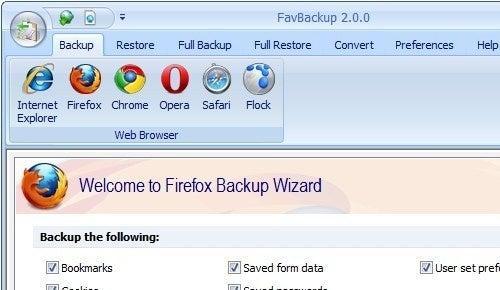 FavBackup Updates, Backs Up Multiple Firefox Profiles