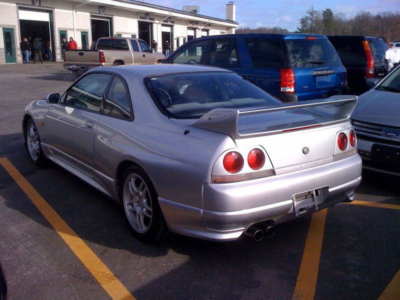 Seized Nissan Skyline GT-R R33 Up For Auction