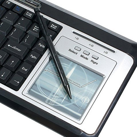 A1Pro Keyboard Has Handwriting Pad With Character Recognition