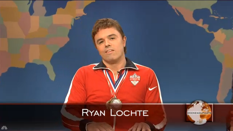 Ryan Lochte, Professor of Jeahcology, Issues Emergency Edict Regarding Ryan Lochte SNL Sketch
