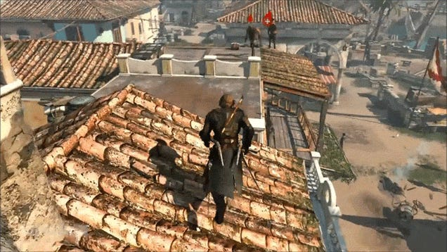 Not Sure if Dance Moves or Assassin's Creed IV Glitch