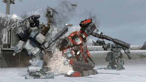 Front Mission Evolves Into Action Game This Fall