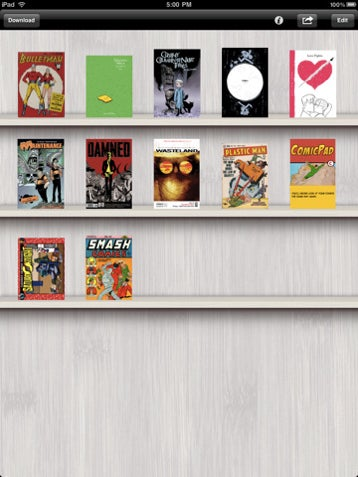 Comic Viewer For iPad Lets You Surf For Comics In-App