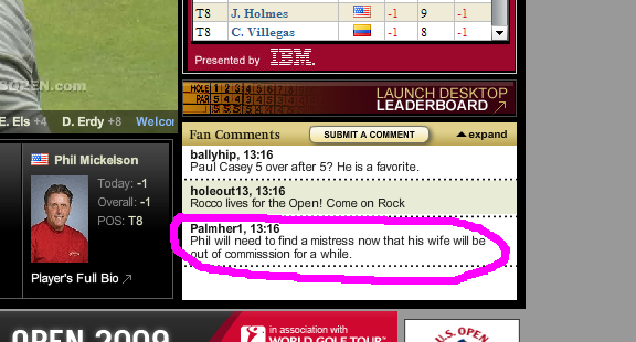 ESPNUSGA Could Really Use Some Comment Ninjas....