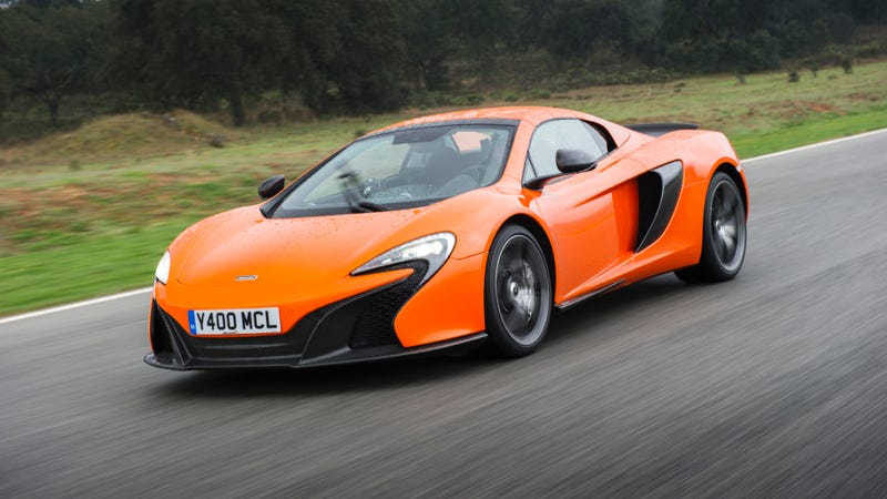 The 18 Things You Learn Driving The McLaren 650S In The Rain
