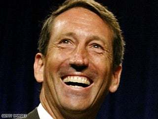 Sanford challenges questions with spontaneous poll of women