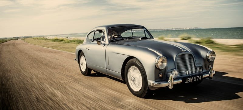 The 'Real' James Bond Aston Martin Is Up For Auction
