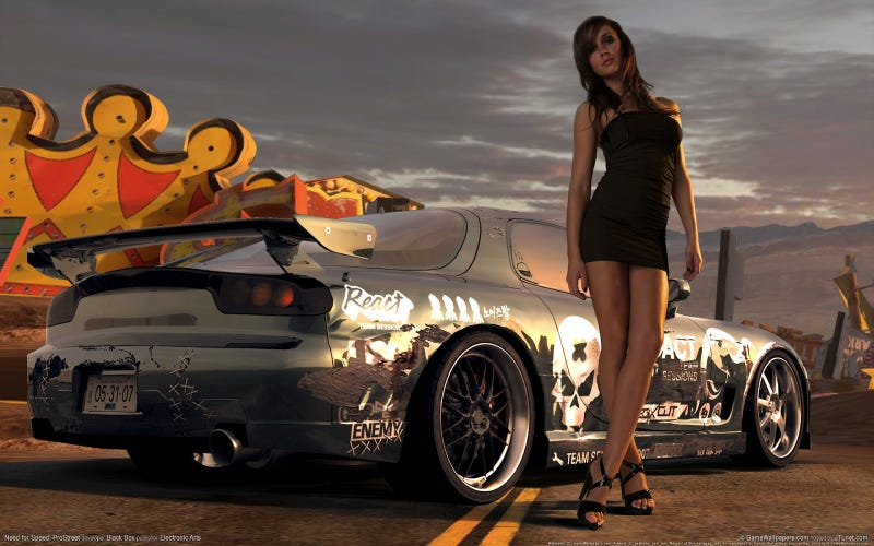 Forza and Gran Turismo, PASS - Tonight I'm playing NFS ProStreet, racing physics are sooo overrated