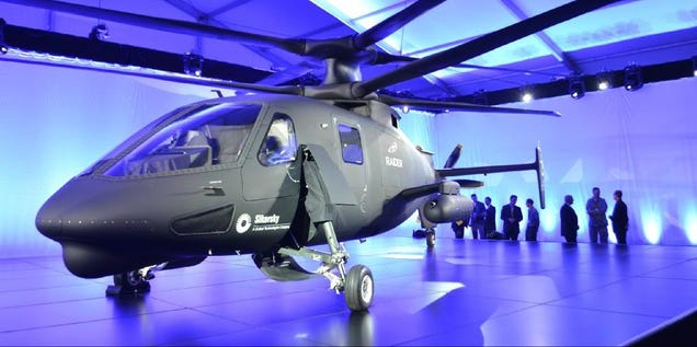 The 270 MPH Sikorsky S-97 Raider Is The Batmobile Of The Skies