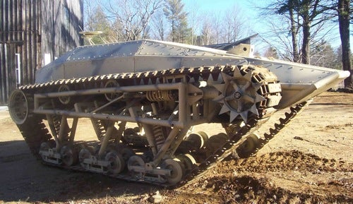 Rip Saw UGV Tank Fast as a Motorcycle, Yours For Only $200,000