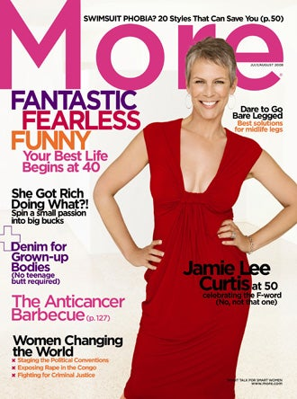 Jamie Lee Curtis Talks To More About Growing Old In Hollywood