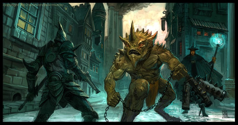 Some Kick-Ass Fantasy Images to Start Your Wednesday