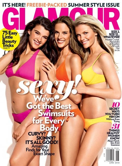 Real Women Have Curves? Glamour Editor Asks & Answers The Wrong Question