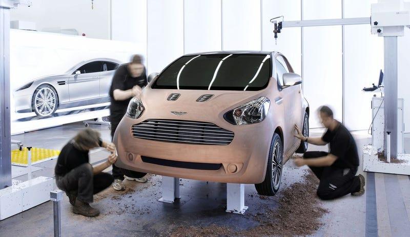 Aston Martin Cygnet City Car Rendered