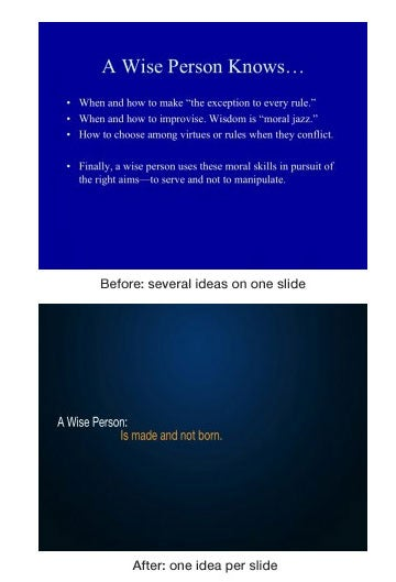How to Create Presentations that Don't Suck
