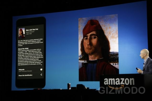 Firefly: Amazon's Fire Phone Can Identify Almost Anything