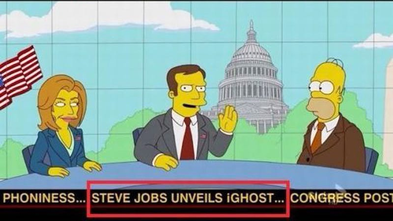 The Simpsons Are Already Making Fun of Steve Jobs
