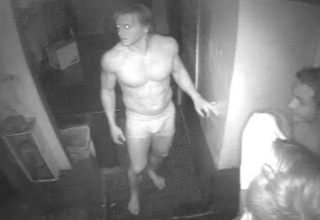 Three Naked College Bros, Hungry for Beef, Break Into Burger Shack