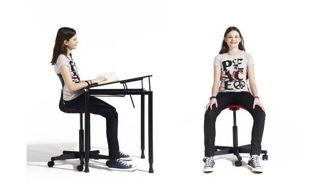 Gorgeous School Furniture That Teaches Kids Good Posture