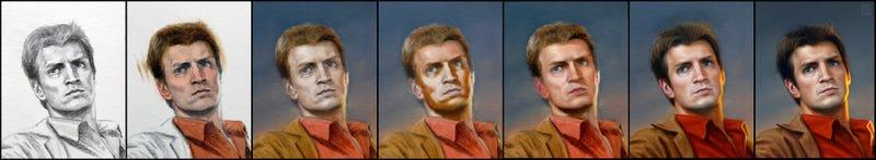 How I Drew Firefly's Mal Reynolds