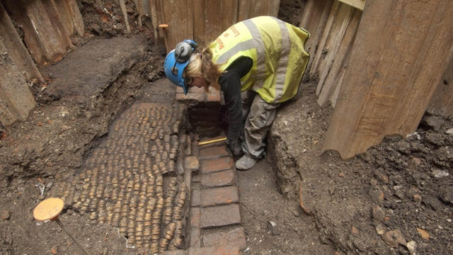 London Finds the Remains of Shakespeare's First Theatre Right Where They Left Them: Underneath London