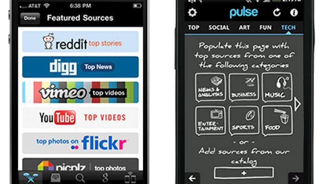 Pulse News Reader Updates with Easier Setup and Better Social Importing