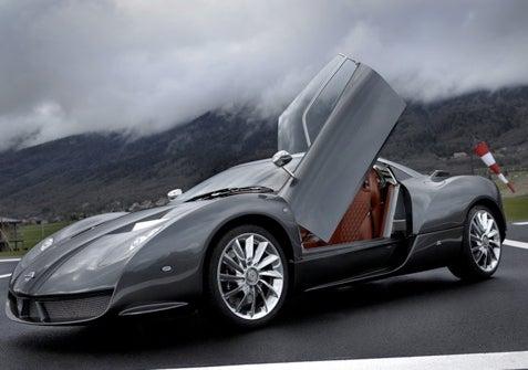 Spyker C12 Zagato Delayed
