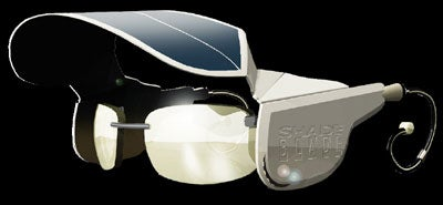 Shade Blade, Your On-Head Solar Power Station