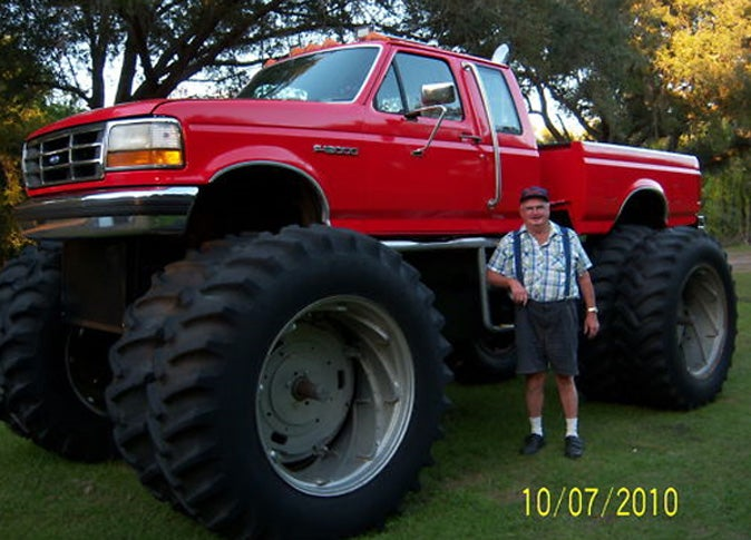 Eight Wheel Ford F15000 is Half Tractor, Half Truck and All 'Merican