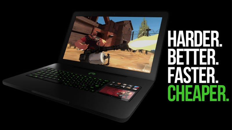 "The ""World's First True Gaming Laptop"" is Now More Powerful, Less Pricey"