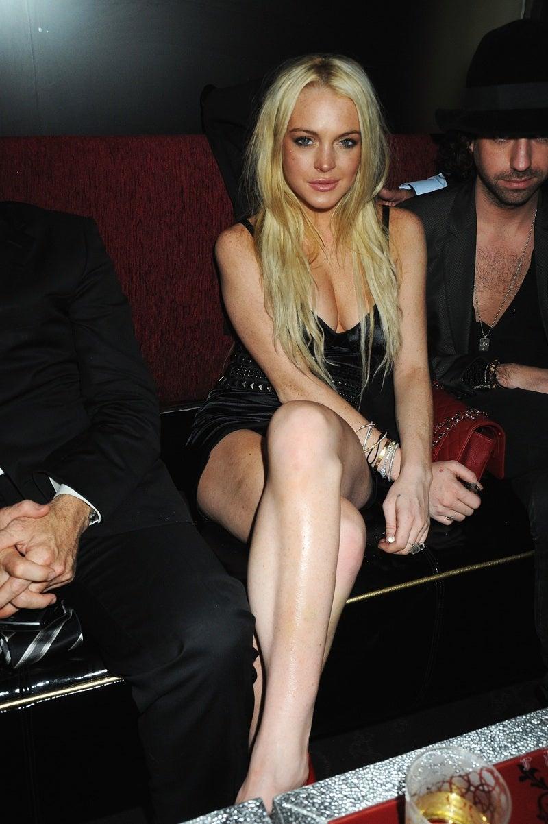 Lindsay Lohan Is Back on Boys