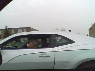 Camaro Wears Soap-Written Scarlet Letters On Southfield Freeway