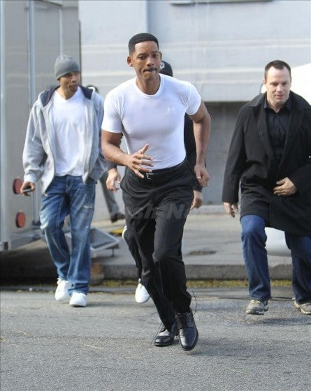 Men in Black set pics