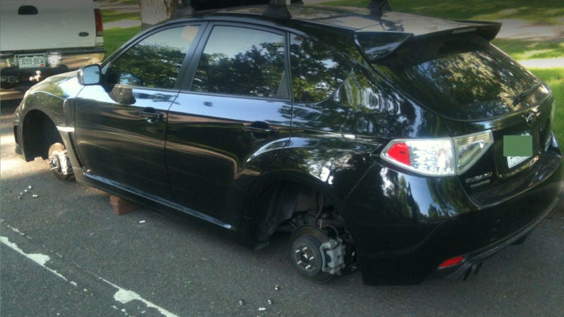 Thieves Are Stealing Wheels From Denver's Subarus