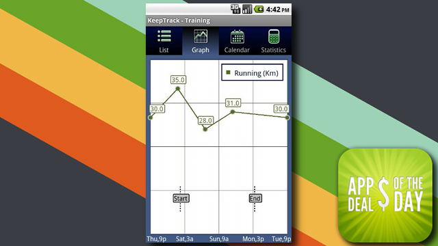 Daily App Deals: Get KeepTrack Pro for Android for Free in Today's App Deals