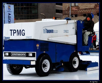 Yep, That SUV Inching Down Your Street Is A Zamboni