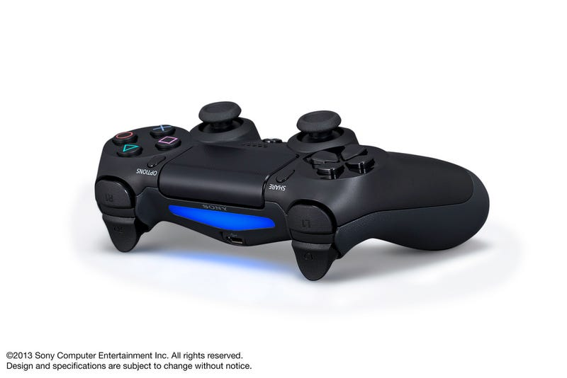 First Official Pics Of The PlayStation 4's New Controller & Camera