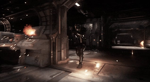 Star Citizen Teases Racing, First-Person Shooting