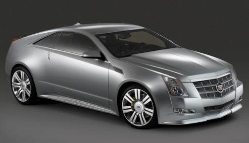 Cadillac CTS Coupe To Bow At LA Auto Show