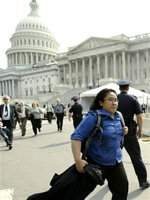 US Capitol Evacuated!