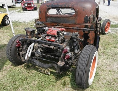And The Winner Of The Greatest Use Of Fiero Powertrain: '39 Chevy Rat Rod