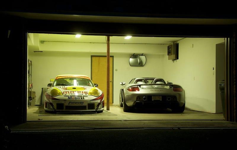 Oh, that's just a Le Mans-winning Porsche in my garage